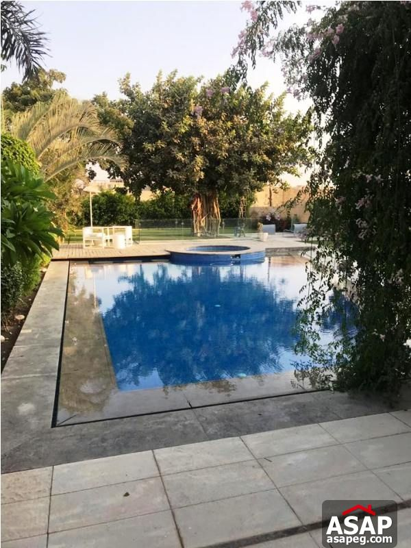 Villa with Pool for Rent in Pyramids Hills - 6 October