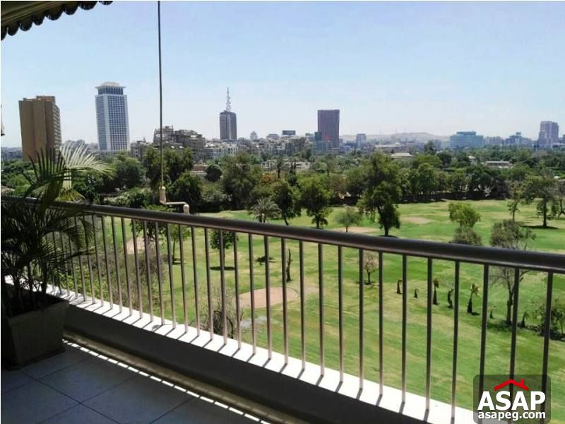 Apartment with Club View in Zamalek
