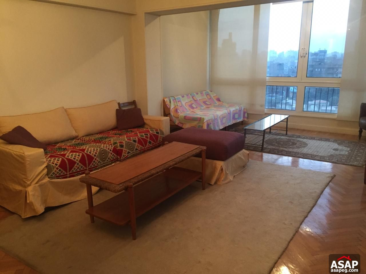 Apartment with Nile View in Zamalek