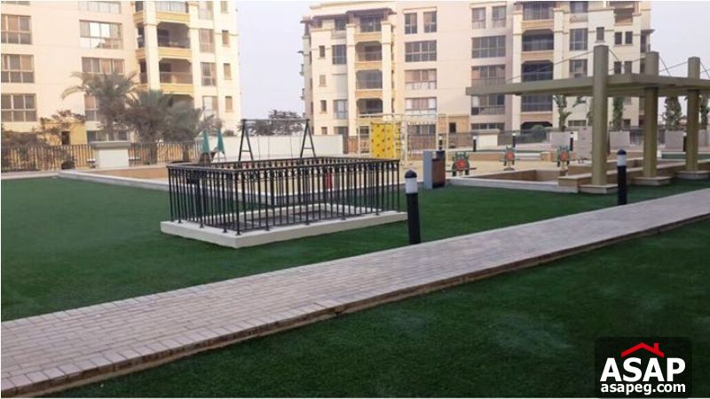 Apartment with Garden for Rent in Uptown Cairo