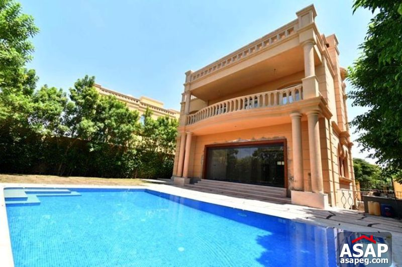 Villa with Pool for Rent in Legenda Compound - Sheikh Zayed