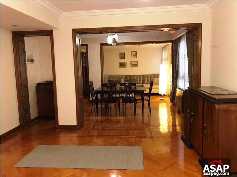 Furnished Flat for Rent in Zamalek
