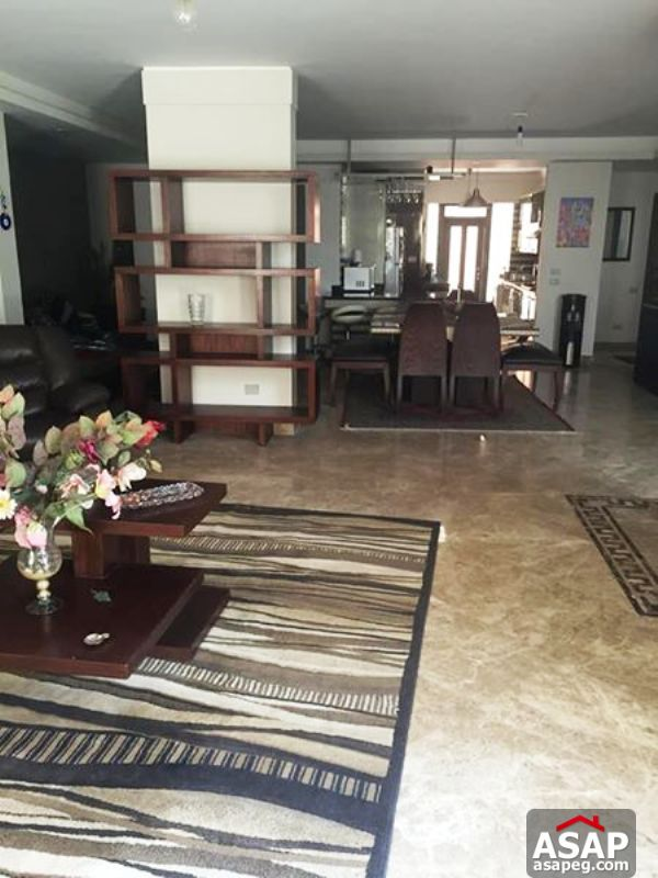 Apartment with Garden for Rent in Katameya Heights