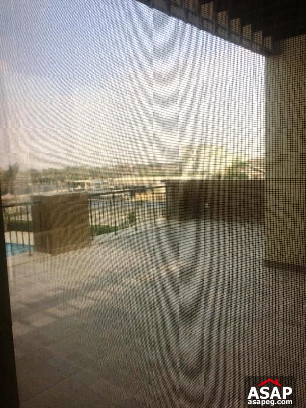 Apartment with Pool View in Uptown Cairo