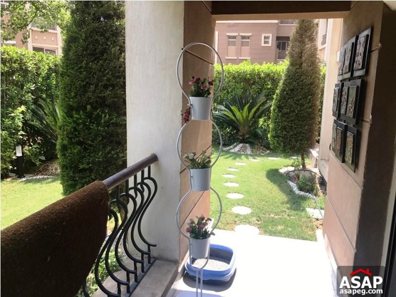 Apartment with Garden for Rent in Katameya Plaza