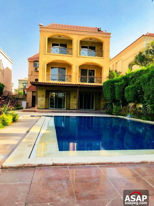 Villa with Pool for Rent in Mirage