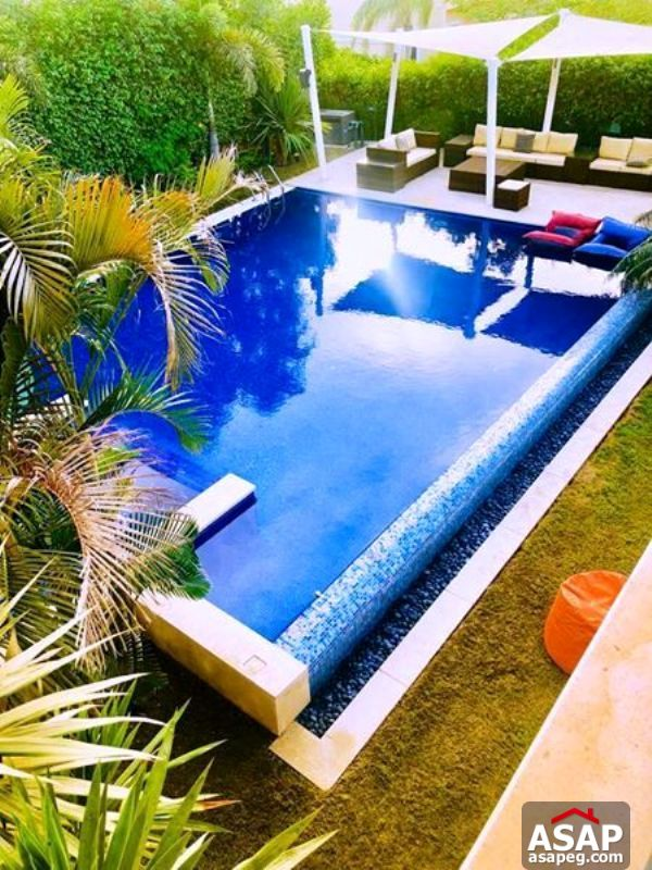 Villa with pool for Rent in Swan Lake - New Cairo