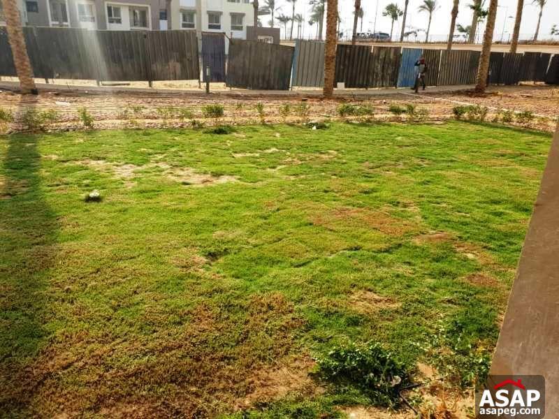 Duplex with Garden for Sale in Uptown Cairo