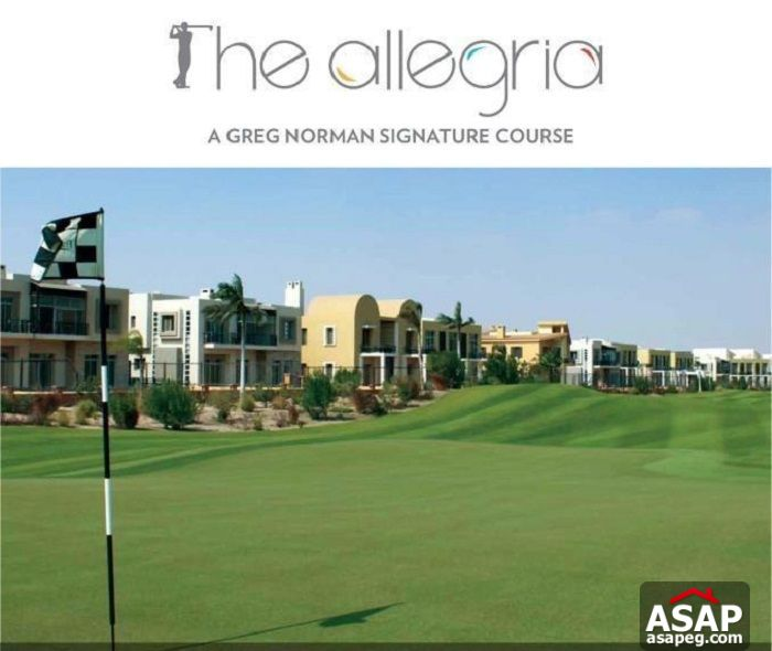 Luxury stand alone in Allegria Sodic Sheikh Zayed for sale