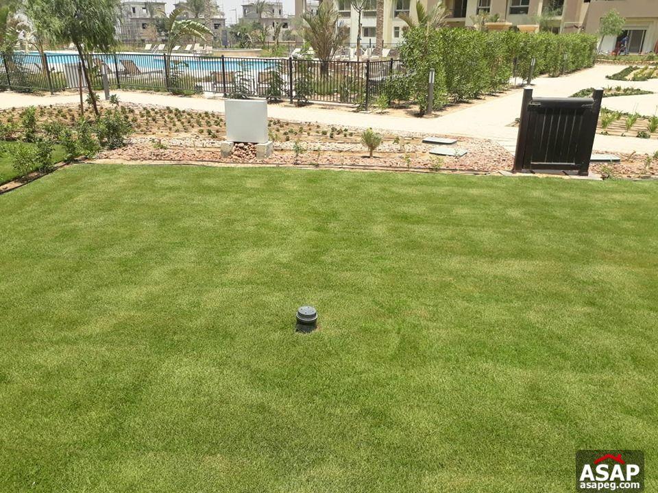 Duplex with Garden for Rent in Uptown Cairo