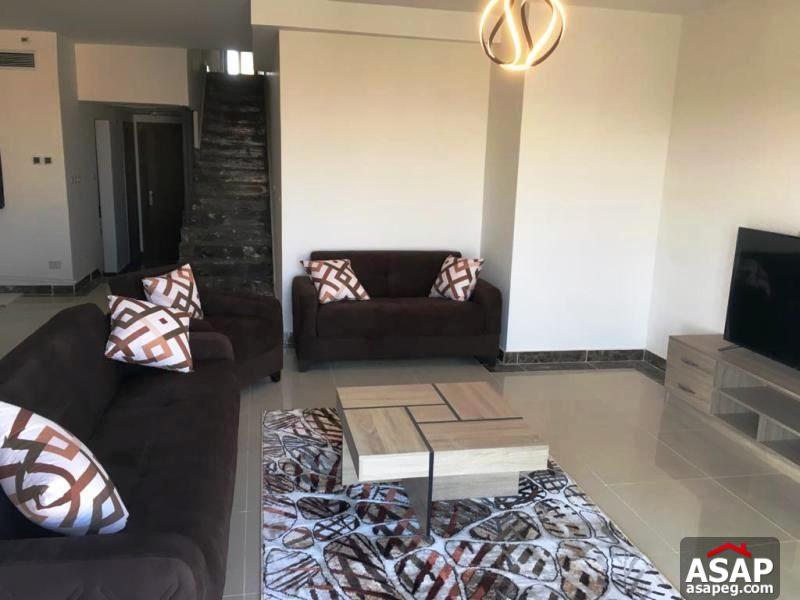 Duplex for Rent in Porto New Cairo