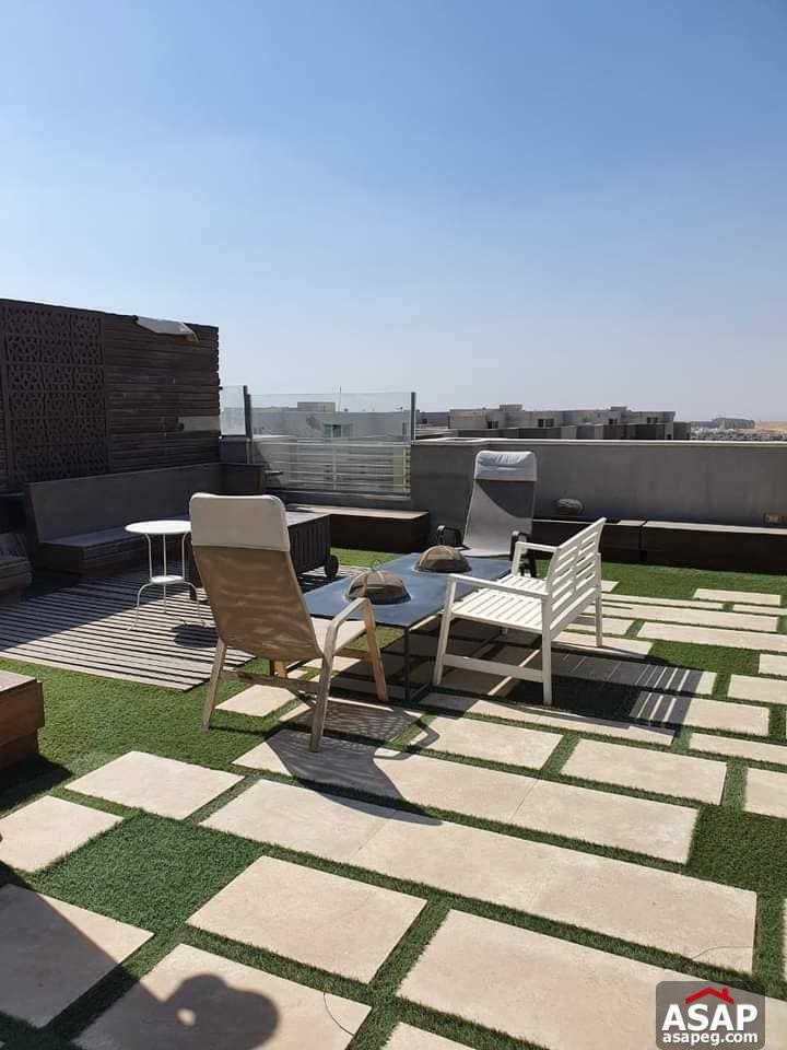 Penthouse for Rent in Village Gardens Katameya