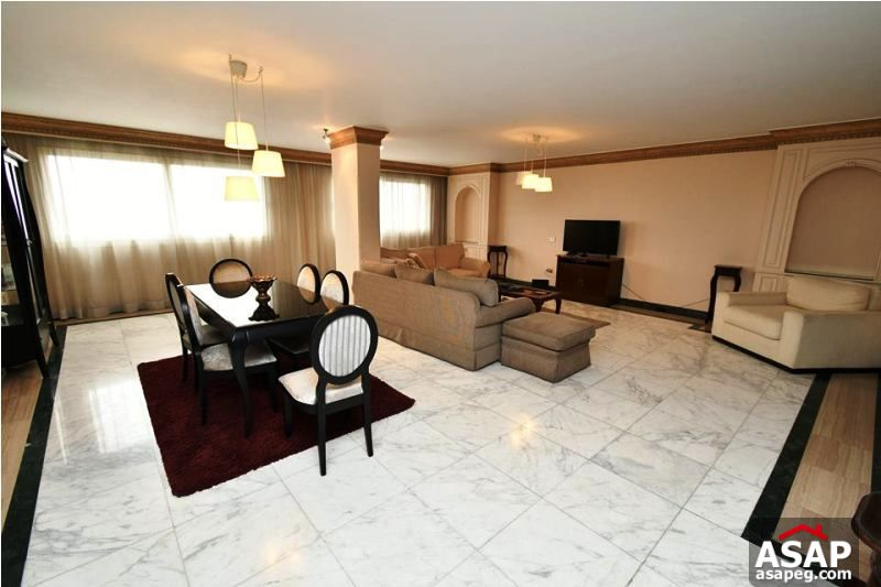 Furnished Flat in Zamalek for Rent