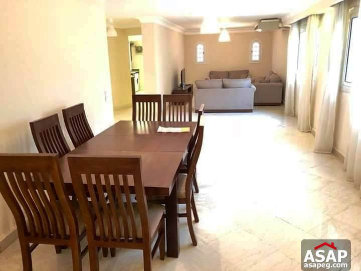 Furnished Penthouse for Rent in Maadi