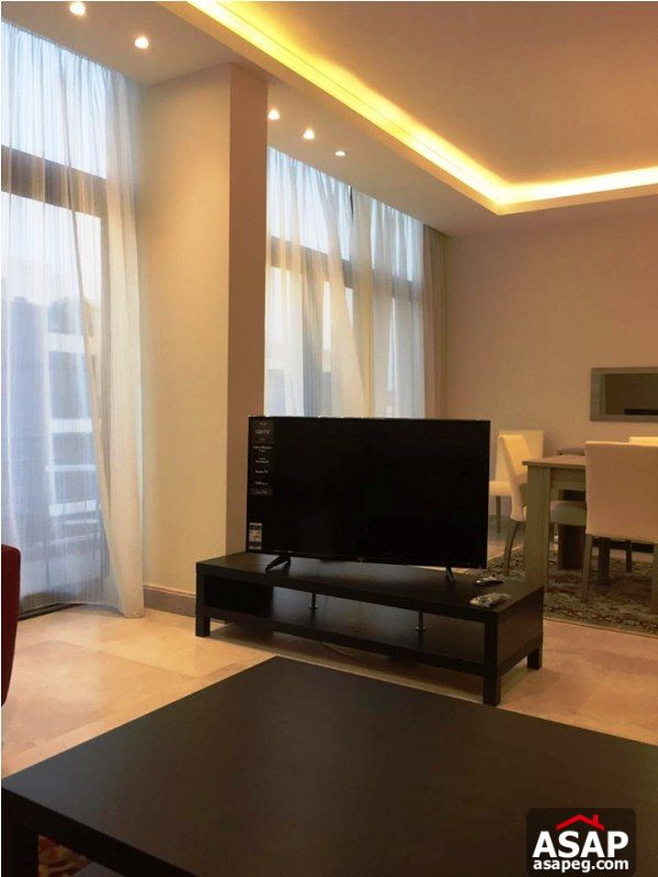 Modern Flat with Pool View for Rent in The WaterWay