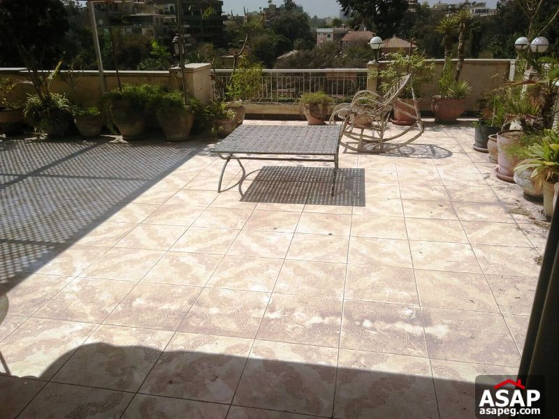 Furnished Roof for Rent in Sarayat EL Maadi