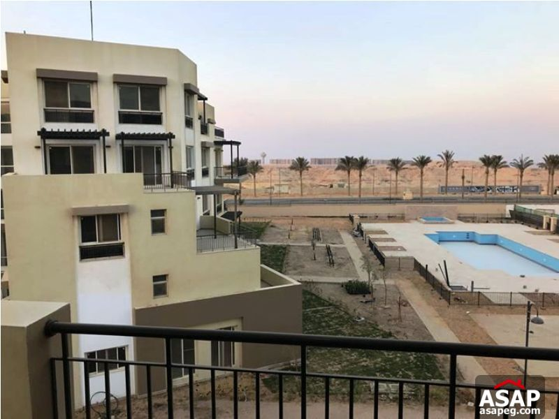 Apartment with Pool View for Sale in Uptown Cairo