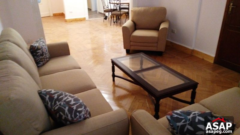 Apartment for rent in zamalek