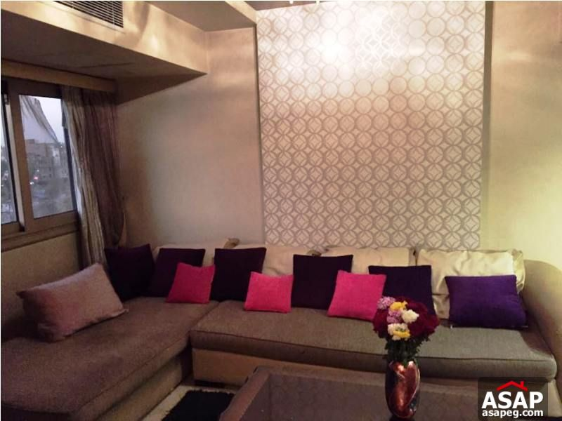 Property for Rent with Nile View in Zamalek