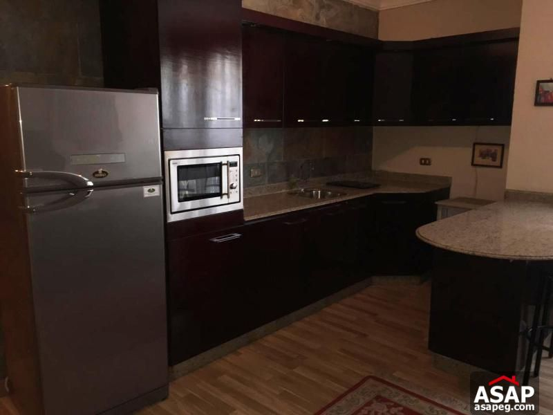 Furnished Flat in West Golf - New Cairo