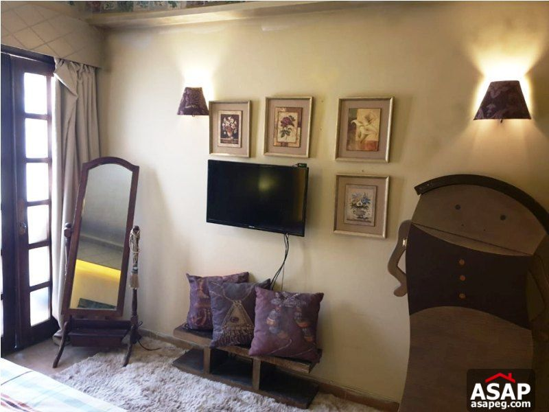 Furnished Studio in Zamalek for Rent