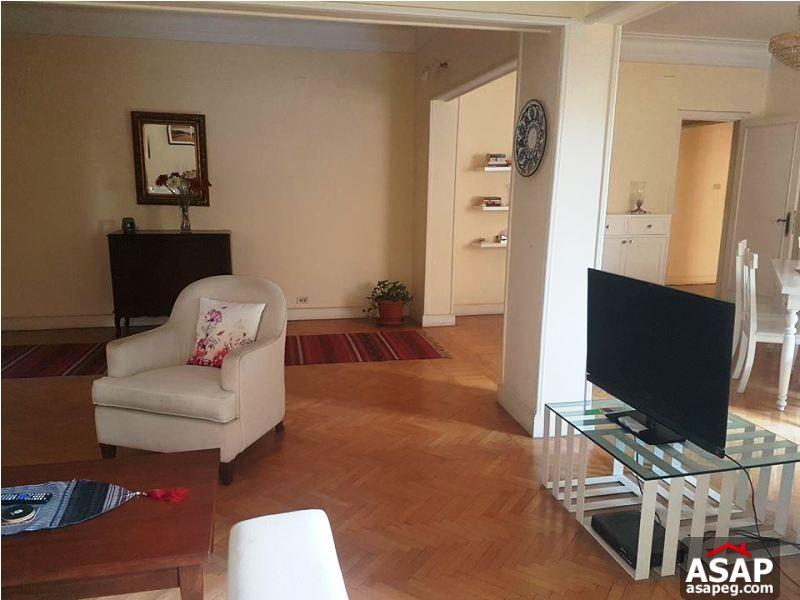 for Rent Apartment in Zamalek