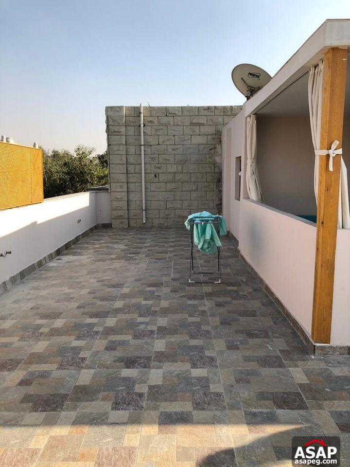 Studio with Roof for Rent in Maadi Sarayat