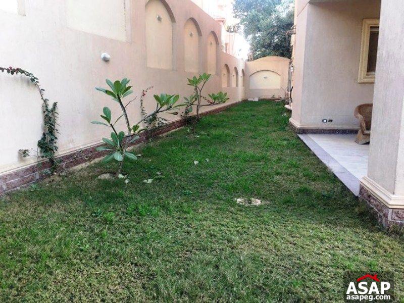 Duplex with Garden for Rent in West Golf - New Cairo