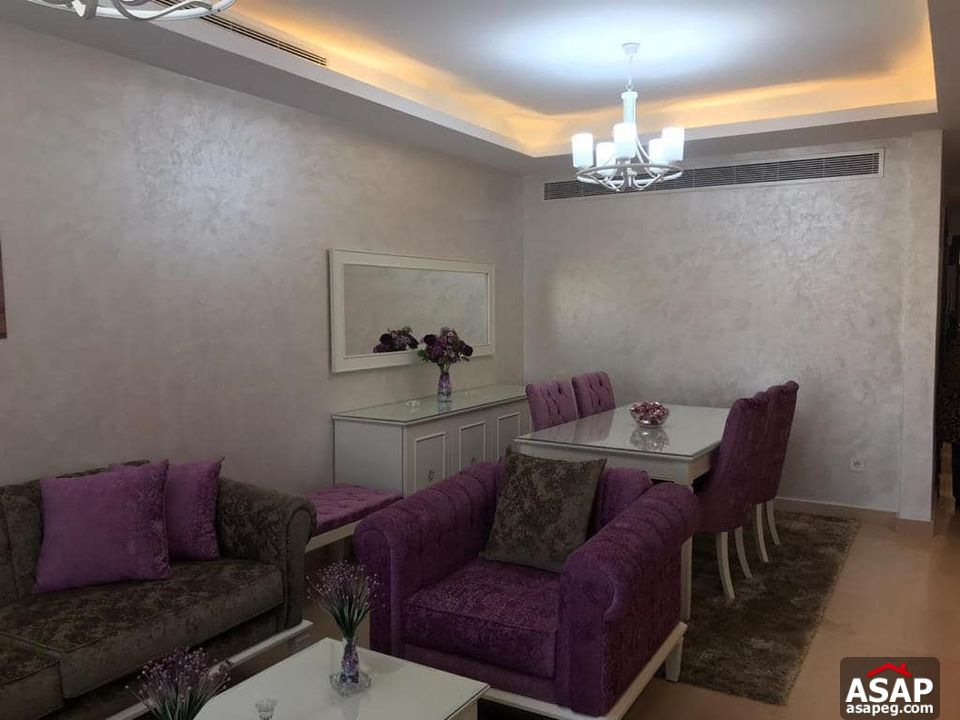 Apartment with Garden View for Rent in Cairo Festival City