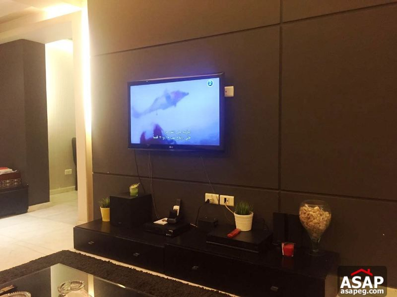 Fully Furnished Apartment with Balcony in Heliopolis